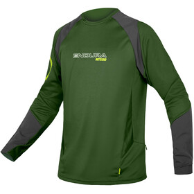 Endura MT500 Burner Bike Jersey Longsleeve Men green